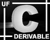 UF Derivable Letter C