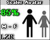 Scaler Avatar M/F 85%