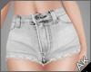 ~AK~ Cutoff Jeans: White