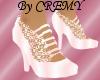 ¤C¤ Pink wedding pumps