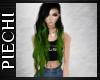 ~P: Ayana Blk-green