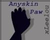 {L} Furry Paw Anyskin
