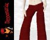 Silk Pants RED
