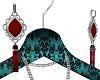 Red Pattie Earrings
