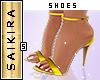 Diamond Heels Yellow