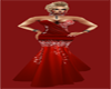 JBD Red Glitter Gown