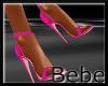 Leather Pink Heels