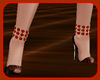 !  RED & BLACK SHOES