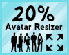 Avatar Scaler 20%