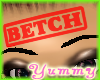 [Y] -Stamped Betch- RED