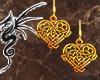 [LD]Gold Celtic Heart