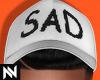 Sad Cap   White