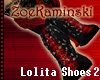 First Lolita Red shoes 2