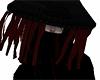 Rouge Uchiha Cloak