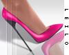 ! L! Gina Pink Stilettos