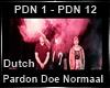 Pardon Doe Normaal