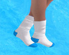 Socks White/Blue
