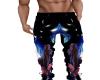 Pantalon Panthere noir H