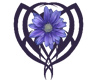 Tribal Daisy - Blue
