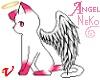 Pink Angel Neko Wand