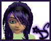 *DC Purple & Blk Kamilla
