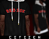 c | Boston Hoodie - noir