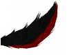 Red/Black Wolf Tail
