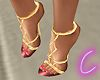C's Greek Couture Heels