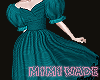 Mimi Wade Moiré Dress