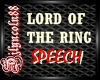~LORD OF TH RING SPEECH~