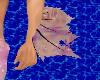 Left Celestial Pink fin