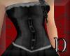 lace Corset Gown black