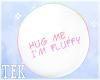 [T] Hug me Speech bubble