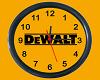 DeWALT Clock