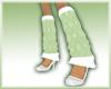 Green Argyle Socks