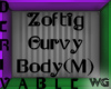 Zoftig Curvy Body Male