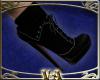 VA Black Suede Boots