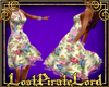 [LPL] Floral Angel Dress