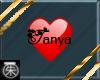 }T{ Tanya name sticker
