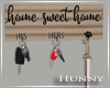 H. Farmhouse Key Holder