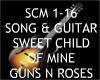 Sweet Child Mine +guitar