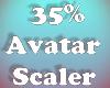 Avatar Scaler 35% F/M