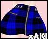 *Y* Punk skirt blue