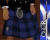 !!DT MacKay blue Kilt/M