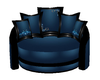 Blue Club Cuddle Chair