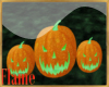 Halloween pumpkin group