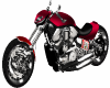 Metallic Red Harley