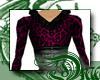 d Pink Leopard Fur Gown