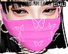 Mask Pink Glitter