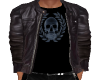Bomber Jacket Skull Top